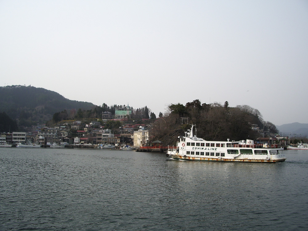 2006年4月気仙沼港