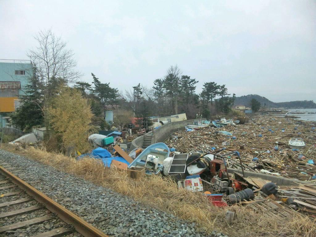 東松島市新東名周辺の定点観測写真