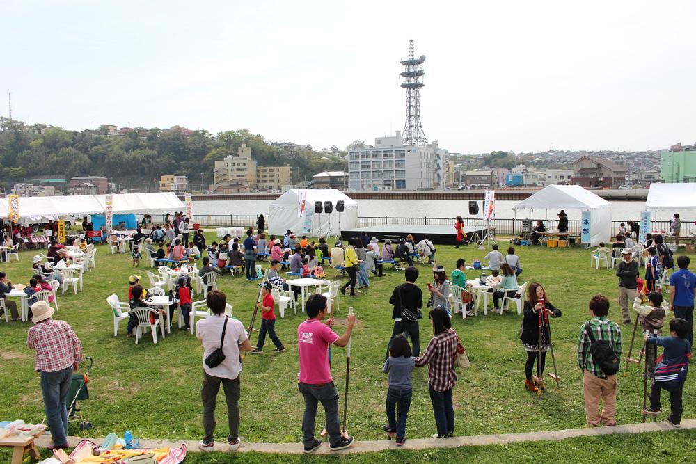 中瀬でのイベント 2014年5月3日 宮城県石巻市中瀬2-7 中瀬公園
