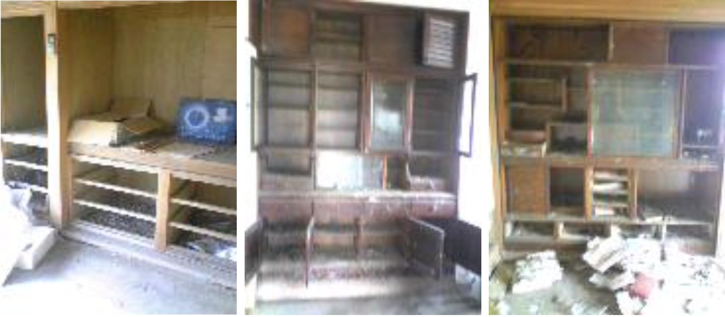 家具の被害1