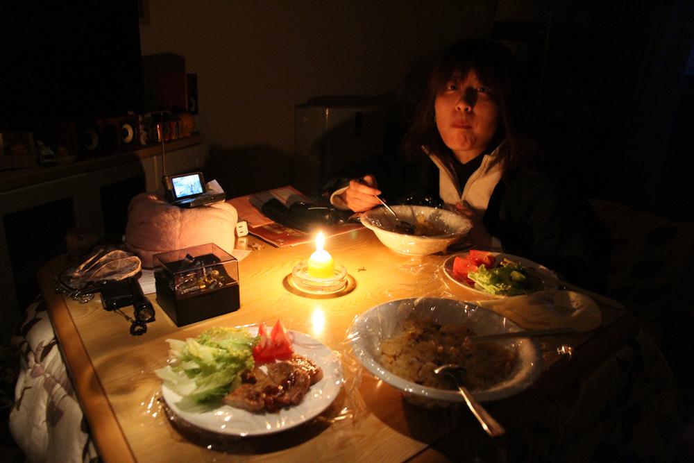 3月12日はじまりのごはん/食事風景 46「日のある...