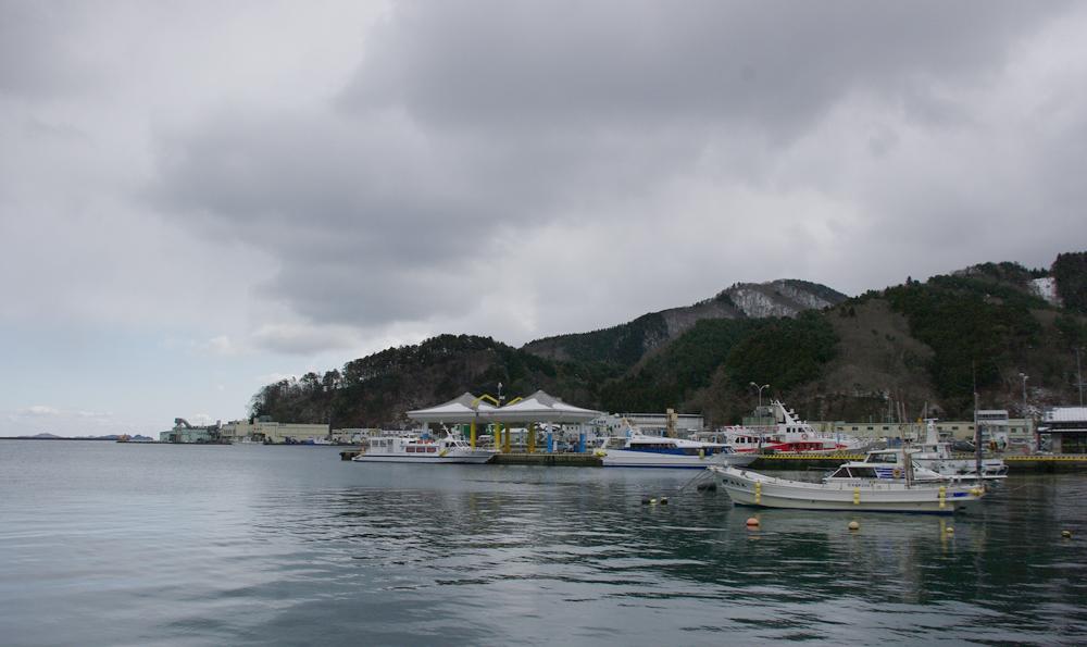 2011年2月女川港
