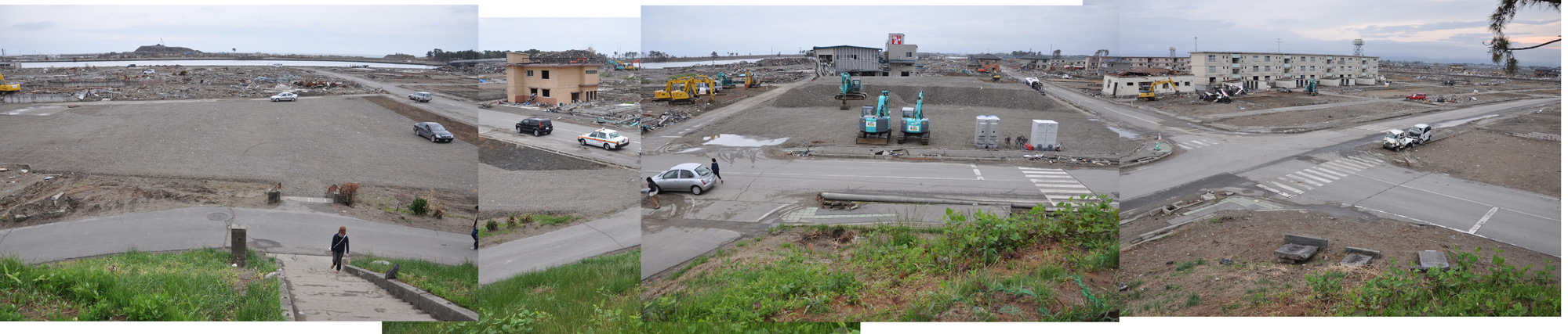 閖上日和山定点観測(東南東-西南西)2011年5月