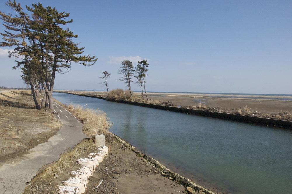 井土浦・貞山運河(仙台市)