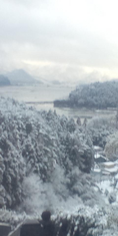 発災直後の北上川