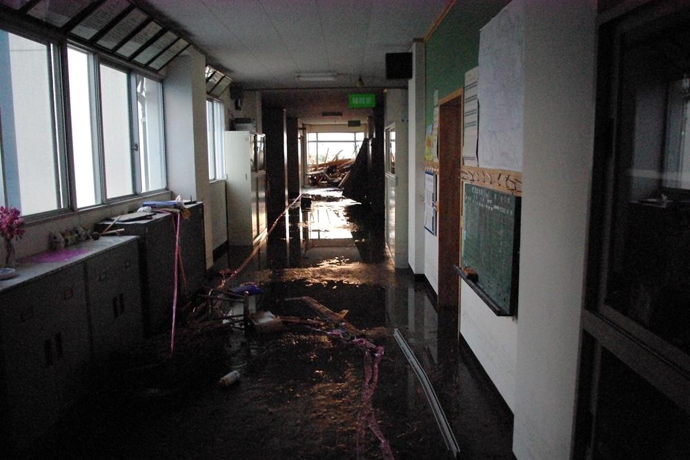 2階校舎内