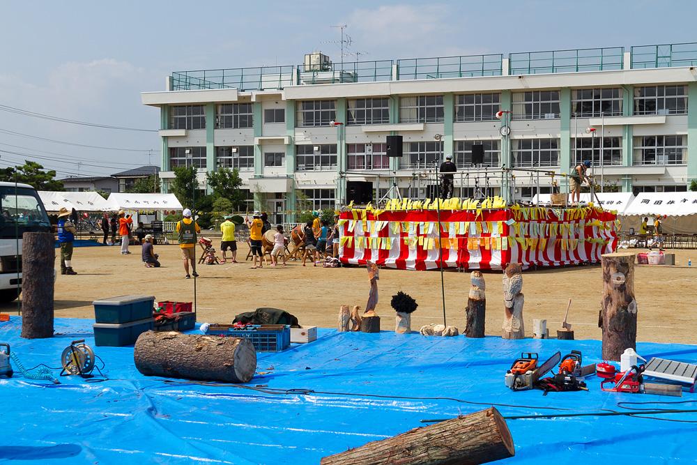 岡田祭の様子