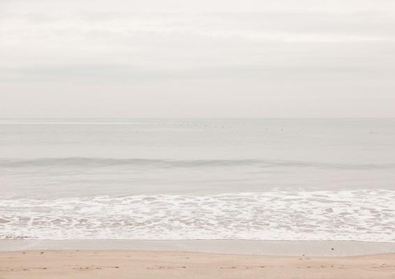 菖蒲田浜 ~空と海の間・現在の景色~