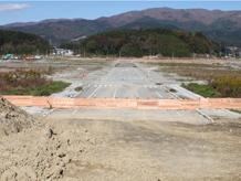 陸前高田定点観測写真04〈駅通り - 本丸公園から〉