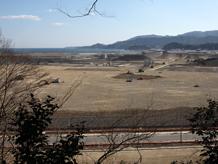 陸前高田定点観測写真05〈本丸公園〉