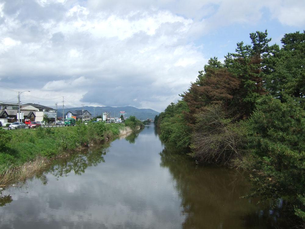 蛇田・北上運河(石巻市)