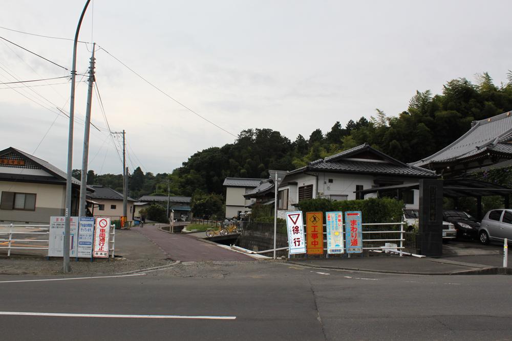 2012年10月の清林寺付近