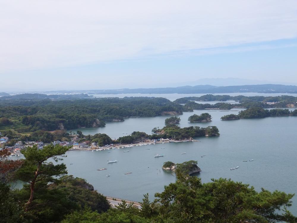 東松島 野蒜海岸と大高森山頂