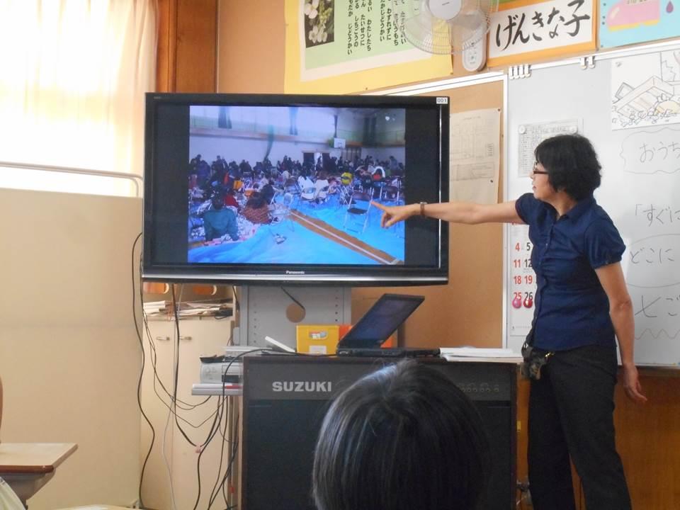 【防災教育】仙台市立七郷小学校での記録写真利活用事例...