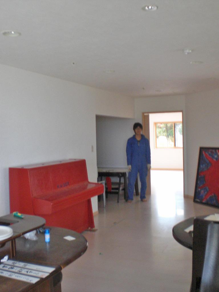 「老莱子の家」1階リビング