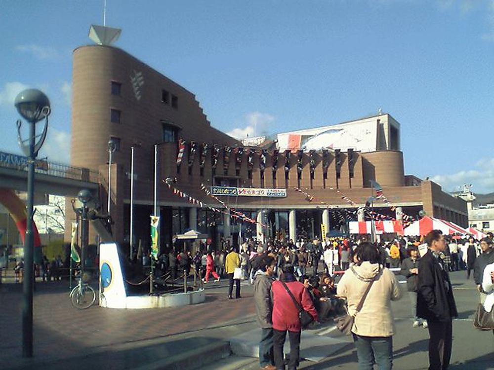 震災前と後の風景〈女川町〉