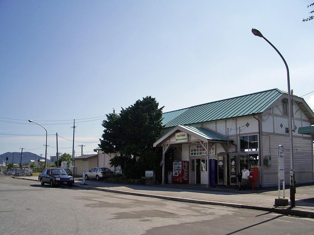 2006年9月陸前高田駅