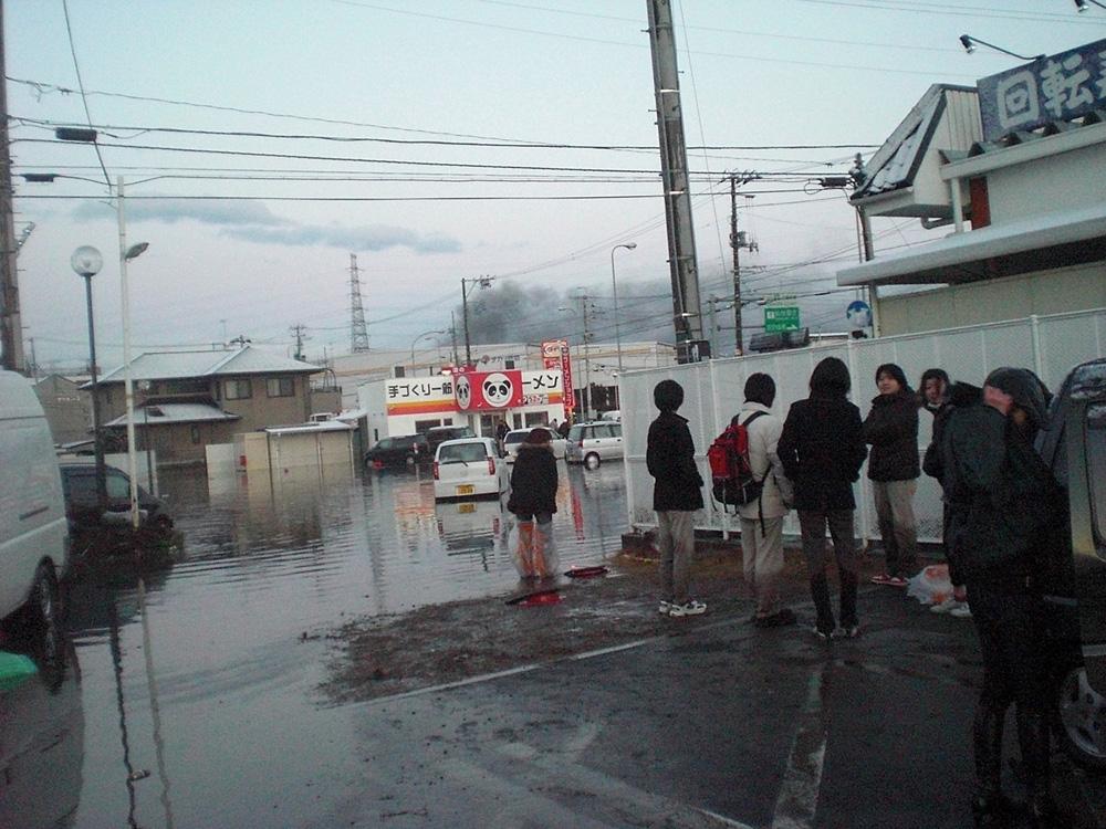 2011年3月11日国道45号出花付近仙台港北IC(津川登昭さん) (77)