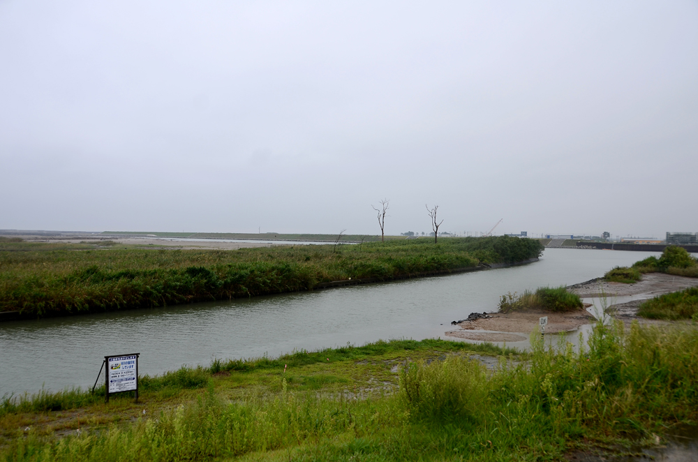 貞山運河(新堀)河口