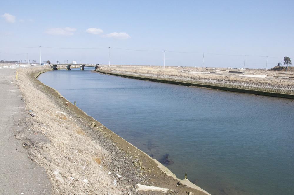 閖上・貞山運河(名取市)