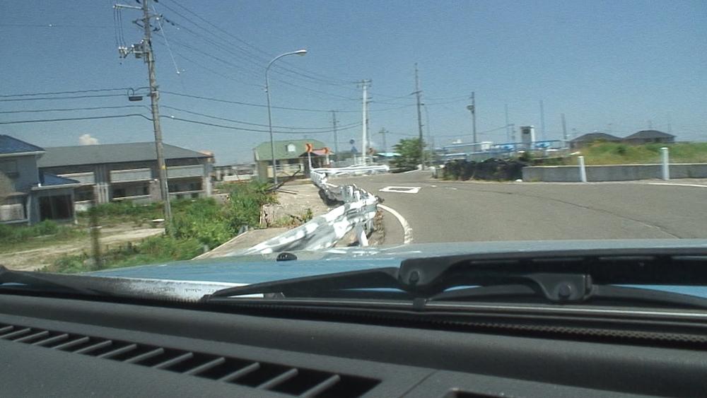 車載映像 2013.6.25 七郷-荒井-蒲生干潟―木村グレゴリオ