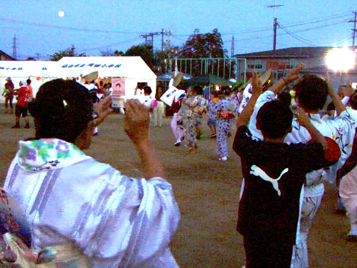 みみで眺めるー岡田小学校校庭(その弐)/仙台市宮城野...